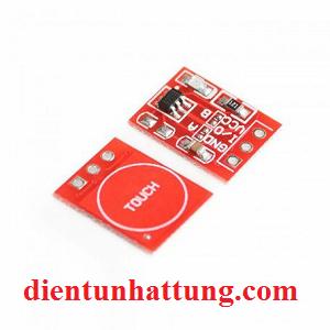 cảm ứng 1 chạm điện dung ttp223